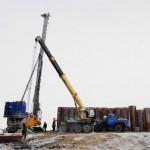 Строительство паромной и пассажирской переправы в пос. Березово