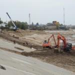 Укрепление берега и дна реки Обь VI очередь строительства